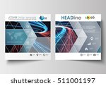 business templates for square... | Shutterstock .eps vector #511001197