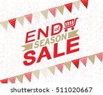 sale banner template design ...   Shutterstock .eps vector #511020667