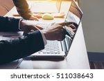 closeup of businessman's hand...   Shutterstock . vector #511038643