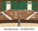 businessman conference or... | Shutterstock .eps vector #511041193
