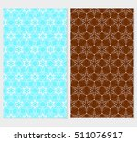 set of floral seamless pattern. ...