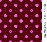 flowers geometric seamless...   Shutterstock .eps vector #511077823