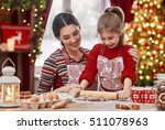 merry christmas and happy... | Shutterstock . vector #511078963