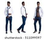 handsome business black man | Shutterstock . vector #511099597