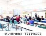 girl use mobile phone blur... | Shutterstock . vector #511146373