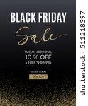 black friday design for... | Shutterstock . vector #511218397