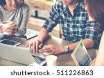 smart man in casual style... | Shutterstock . vector #511226863