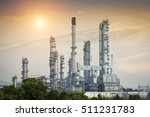 oil and gas refinery  ... | Shutterstock . vector #511231783