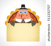 happy thanksgiving or give... | Shutterstock .eps vector #511232707