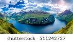 Panorama Geiranger Fjord ...