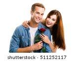 portrait of young happy hugging ...   Shutterstock . vector #511252117