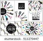 barber shop  haircut   beauty... | Shutterstock .eps vector #511270447