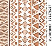seamless ethnic pattern...   Shutterstock .eps vector #511276297