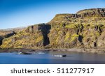 glacial lake with floating... | Shutterstock . vector #511277917