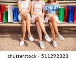 close up of three women in... | Shutterstock . vector #511292323