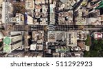 top view aerial photo of a hong ... | Shutterstock . vector #511292923