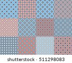 seamless textures with arabic... | Shutterstock .eps vector #511298083