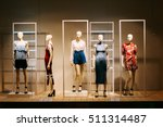 Five Mannequins Standing In...