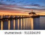 roanoke marshes screw pile... | Shutterstock . vector #511326193