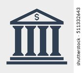 bank icon | Shutterstock .eps vector #511332643