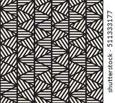 vector seamless black and white ... | Shutterstock .eps vector #511333177