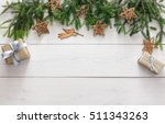 christmas decoration  gift... | Shutterstock . vector #511343263