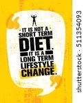It Is Not Short Time Diet. It...