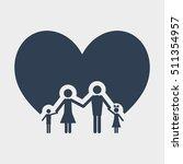 family love icon | Shutterstock .eps vector #511354957