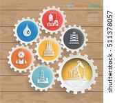 oil industry design vector | Shutterstock .eps vector #511378057