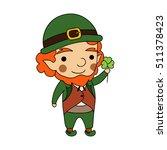vector cartoon illustration of... | Shutterstock .eps vector #511378423