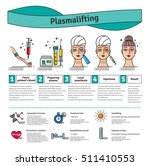 vector illustrated set with... | Shutterstock .eps vector #511410553