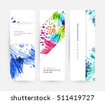 set of hand drawn universal... | Shutterstock .eps vector #511419727