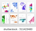 set of hand drawn universal... | Shutterstock .eps vector #511423483