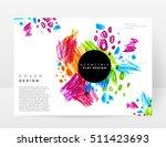 set of hand drawn universal... | Shutterstock .eps vector #511423693