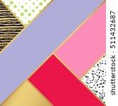 abstract art pattern. vector...   Shutterstock .eps vector #511432687
