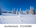Winter Landscapes - stock photo
