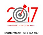 2017 successful new year... | Shutterstock .eps vector #511465507
