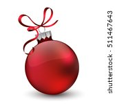 Christmas Ornament With Red...