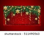 illustration of christmas... | Shutterstock .eps vector #511490563