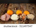 healthy lifestyle  sport ... | Shutterstock . vector #511497547