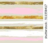 glitter stripse seamless pattern | Shutterstock . vector #511558417