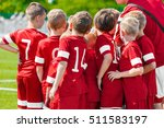 kids play sports. children... | Shutterstock . vector #511583197