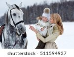 mother with the daughter play... | Shutterstock . vector #511594927