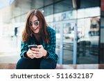 portrait of urban fashionable...   Shutterstock . vector #511632187
