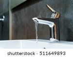 Open Chrome Faucet Washbasin