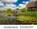 buildings in danube delta ... | Shutterstock . vector #511652197