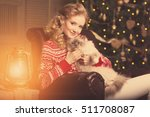 christmas party  winter... | Shutterstock . vector #511708087