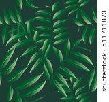 illustration of  leaf seamless... | Shutterstock .eps vector #511711873