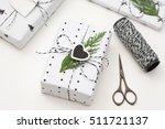 christmas gifts   Shutterstock . vector #511721137