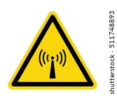 non ionizing radiation hazard... | Shutterstock .eps vector #511748893